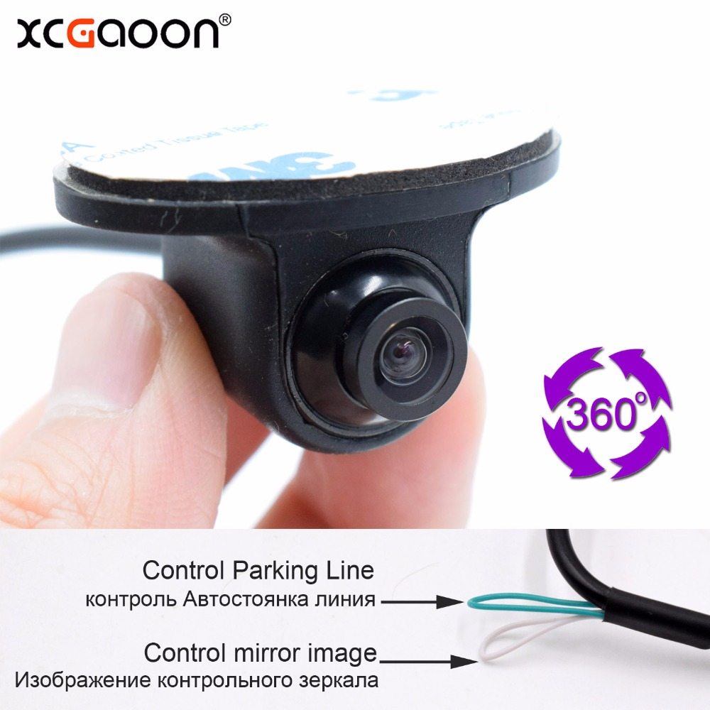 XCGaoon T9 Mini CCD Coms HD 360 Degree Car Rear View font b Camera b font