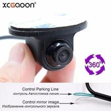 XCGaoon T9 Mini Coms CCD HD 360 Gradi Macchina fotografica di Retrovisione macchina fotografica Grandangolare Fotocamera Frontale Vista Frontale Laterale Telecamera di Retromarcia Backup