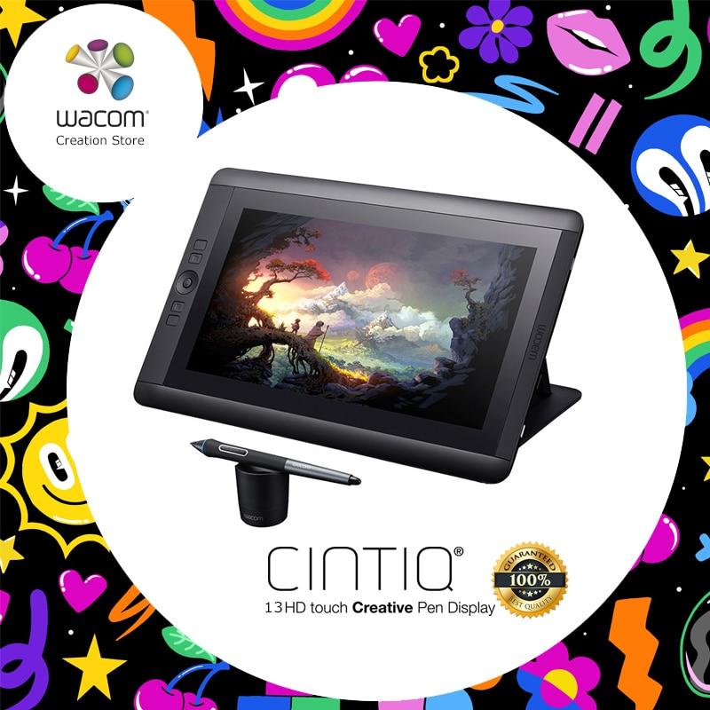 Wacom Cintiq 13HD DTK-1301 graphique tablette moniteur créatif stylo affichage 2048 pression (DHL/EMS/UPS/Fedex livraison gratuite)