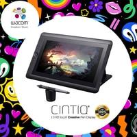 Wacom Cintiq 13HD DTK 1301 Graphic Tablet Monitor Creative Pen Display 2048 Pressure ( DHL / EMS / UPS / Fedex Free Shipping )