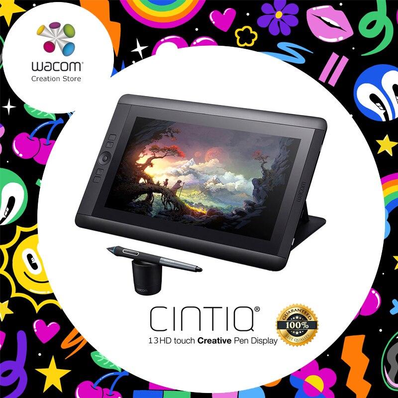 Wacom Cintiq 13HD DTK-1301 tablette graphique Moniteur affichage interactif 2048 Niveaux de Pression