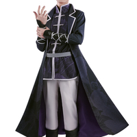 Anime! Spiritpact Yang Jinghua Chinoiserie Uniform Cosplay Costume Halloween Carnival Outfit Free Shipping