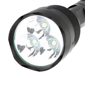 Image 4 - Sofirn linterna LED potente C15, linterna táctica militar de autodefensa, luz de Camping, lámpara de caza, 18650 3 * Cree XML T6