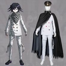 High Quality Anime Danganronpa V3 Killing Harmony Ouma Kokichi Outfit Cosplay Japanese Game School Uniform Suit