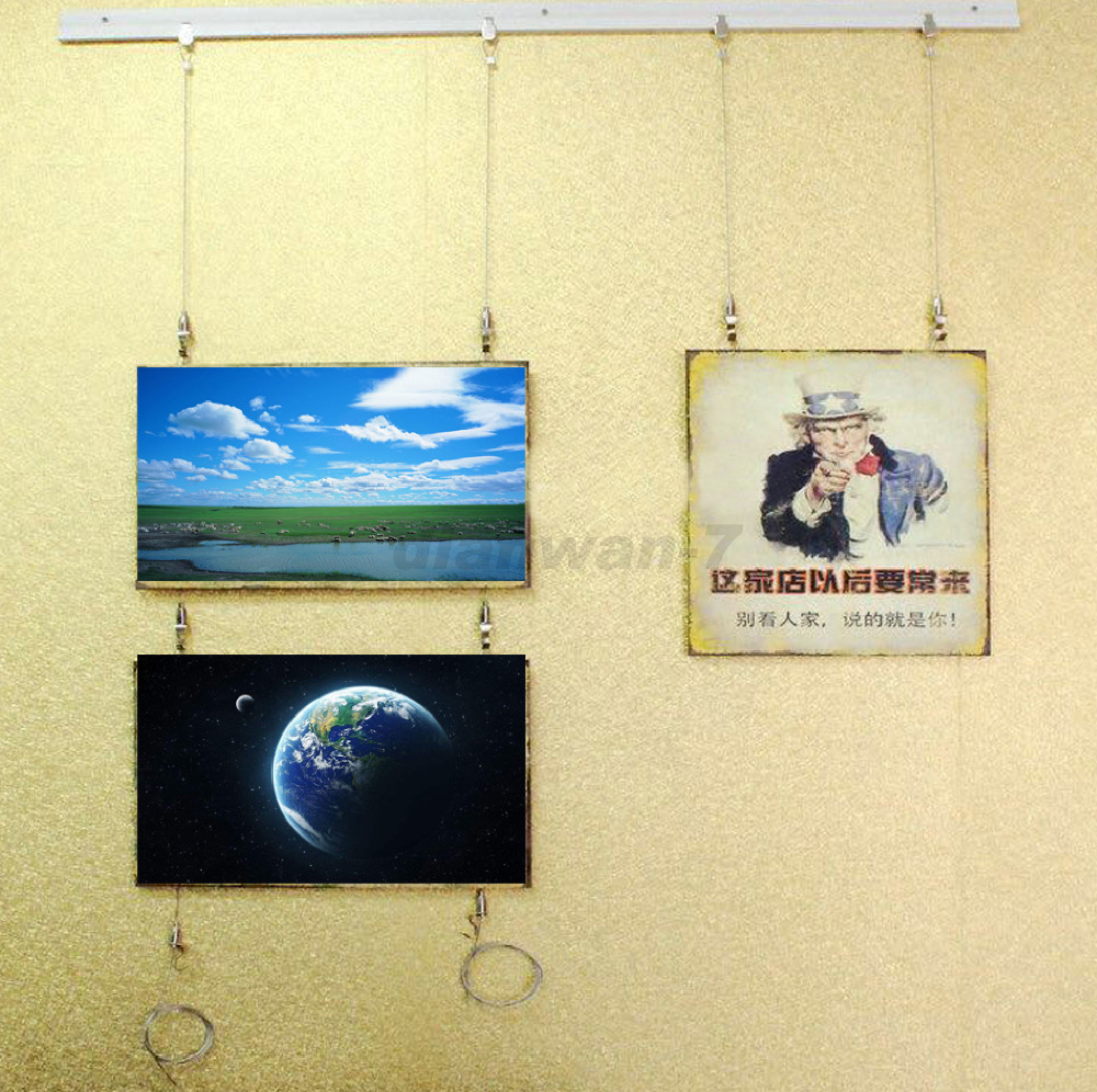 Exhibition Art Hanging System;Gallery Large Paint/Picture/Photo ...