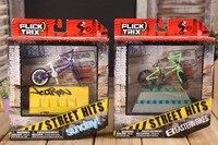 Профессиональный сплава 1:50 мини BMX пальцев BMX Розничная упаковка мини-палец-BMX палец велосипедов комплект с мебелью для подарок для детей