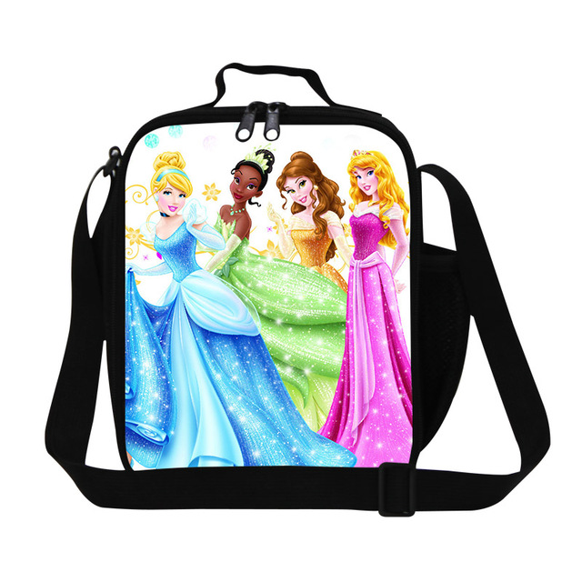New Arrival Cartoon Girls Termal Cooler Lunch Bags Cute Barbie Doll  Insulated Lunch Box For Kids c41259f930f8c