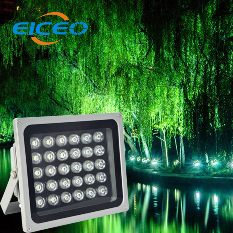 (EICEO) LED Flood Light Outdoor Lighting Reflector Lights Projector Spotlight Lamp Project Lamps Advertising Projection 6w 12w 80w led flood lights ip65 outdoor led flood light advertising led light