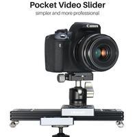 Ulanzi SL 260 Camera Slider Pocket Track Rail for Video Camera DSLR Camcorder Phone Mini Portable DSLR Slider Rail