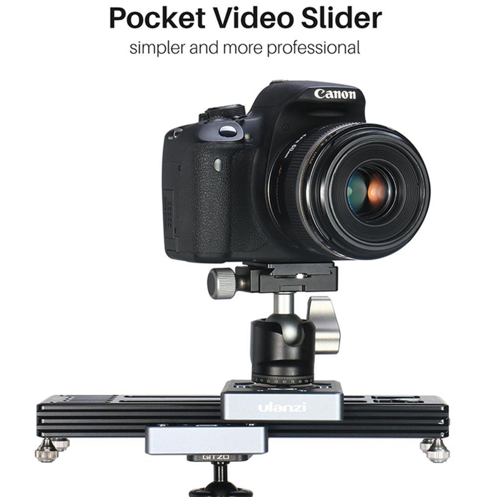 Ulanzi SL-260 caméra curseur Rail de poche pour caméra vidéo DSLR caméscope téléphone Mini Portable DSLR curseur Rail