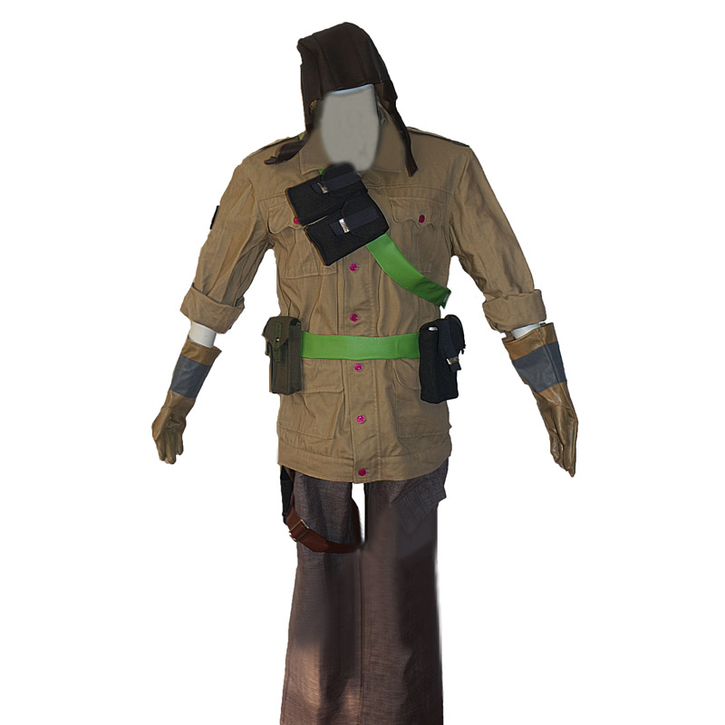 Tom Clancy's Rainbow Six Siege Jager Marius Streicher WIFI mute Cosplay Costume Uniforms Tailor made Any Size