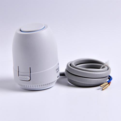Пол отопительный клапан NC AC 230 В Электрический термопривод коллектор для термостат для полов с подогревом