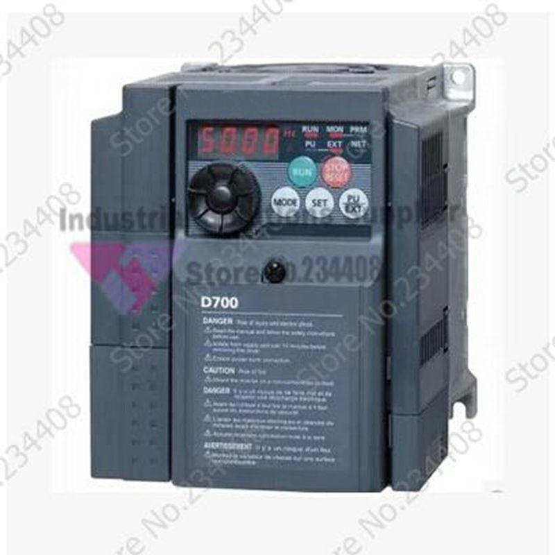 все цены на  Input 3 ph 380V Output 3 ph Inverter FR-D740-0.4K-CHT 380~480V 1.2A 400W 0.4KW 0.2~400Hz 1.2A New Original  онлайн