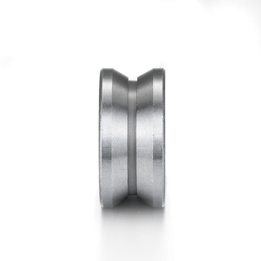 1 stücke 8*30*14mm v-typ lager 120 grad winkel edelstahl zweireihig