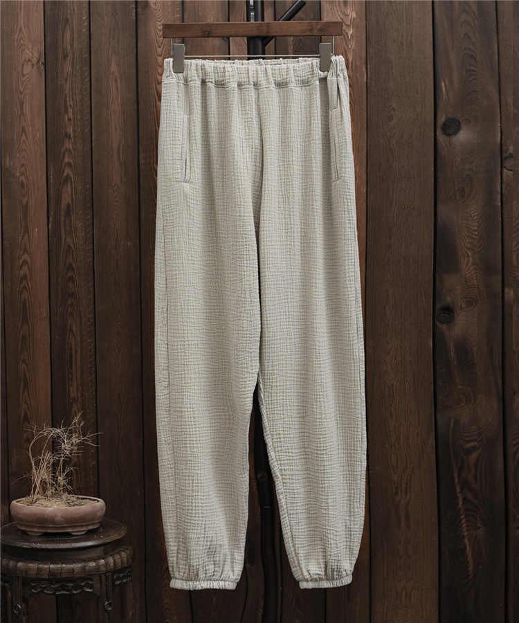 Fashion 2018 women white pants cotton linen hippie flared pants black color long trousers hot pantalona lantern, BXF2323