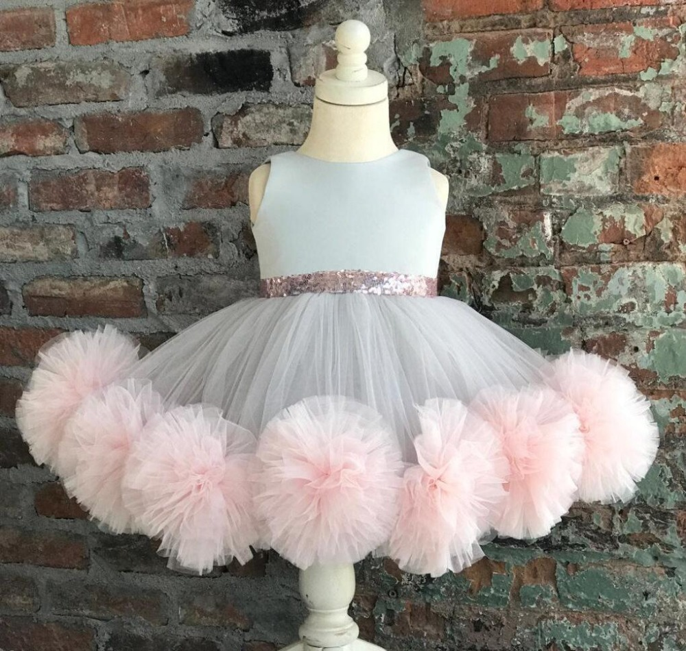 Buy Grey Flower Girl Dresses And Get Free Shipping On Aliexpress