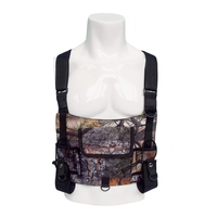 Tactical Bag Vest Chest Bag Adjustable Front Pack molle Pouch Camouflage Vest With Walkie Talkie Pocket hunting bag accessories