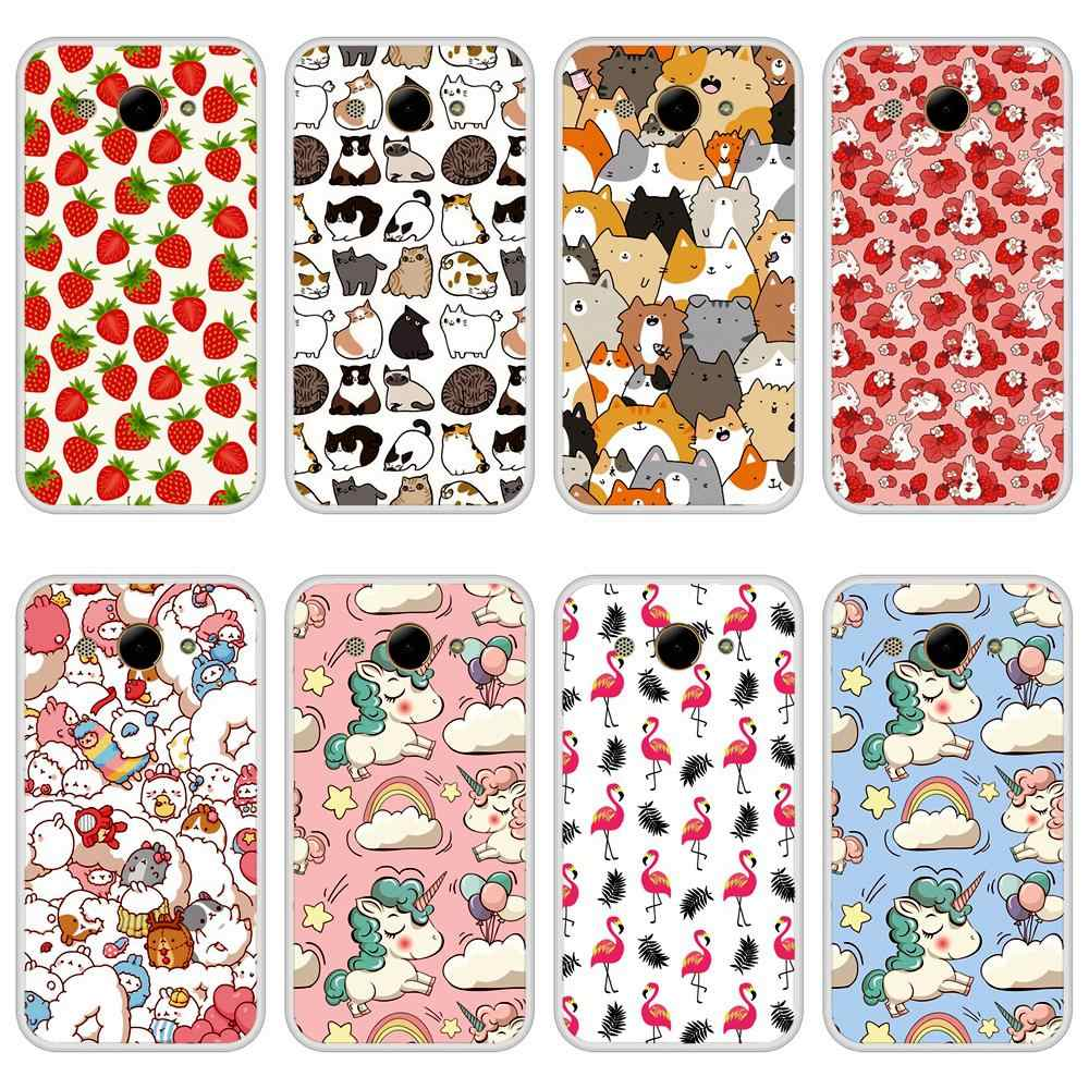 Case Cover for Huawei Y3 2017 Soft Silicone TPU Cute Pattern Printed for Huawei Y 3 2017 Phone Case