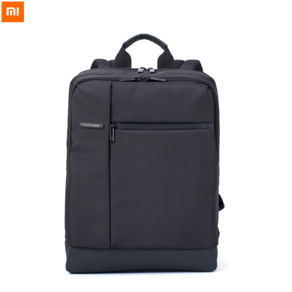 Xiaomi Classic Version Bag Business Backpacks 17L Capacity Polyester Material Bag For Woman Man For Laptop Notebook