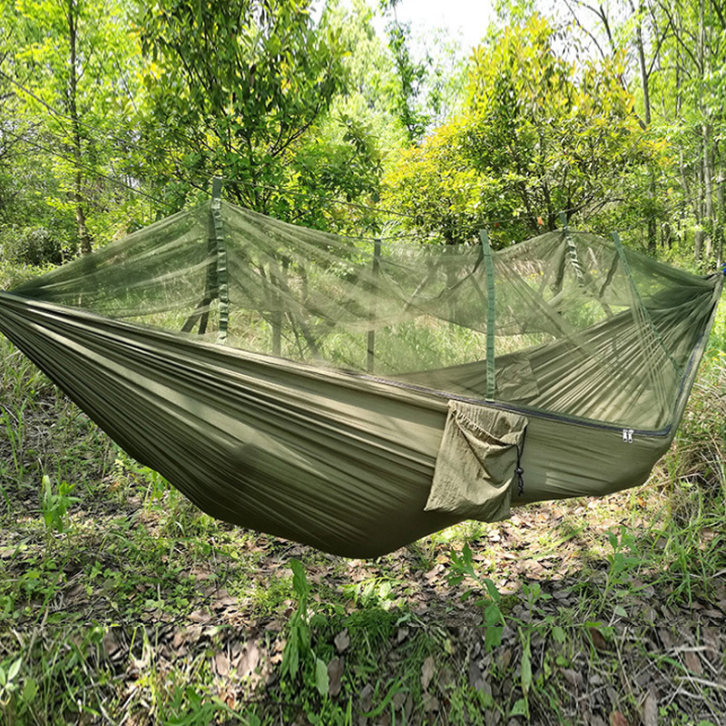 650G Ultralight Portable Folding Outdoor Camping Hammock Tent With Mosquito Net Relaxing Bivvy Hiking Survival Travel Tente