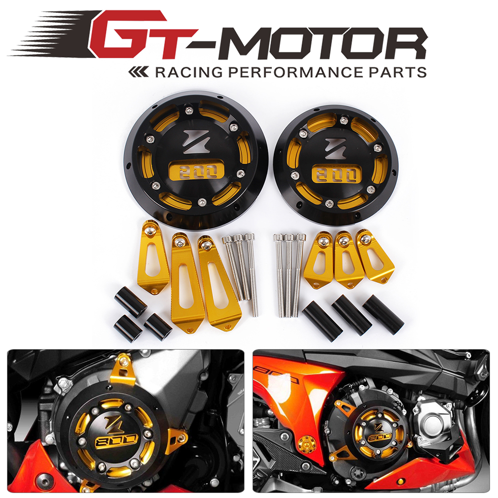 GT Motor - 5 color For KAWASAKI Z800 20132014 2015 Motorcycle CNC Aluminum Engine Stator Cover Engine Protective Cover antari z 800 ii page 5