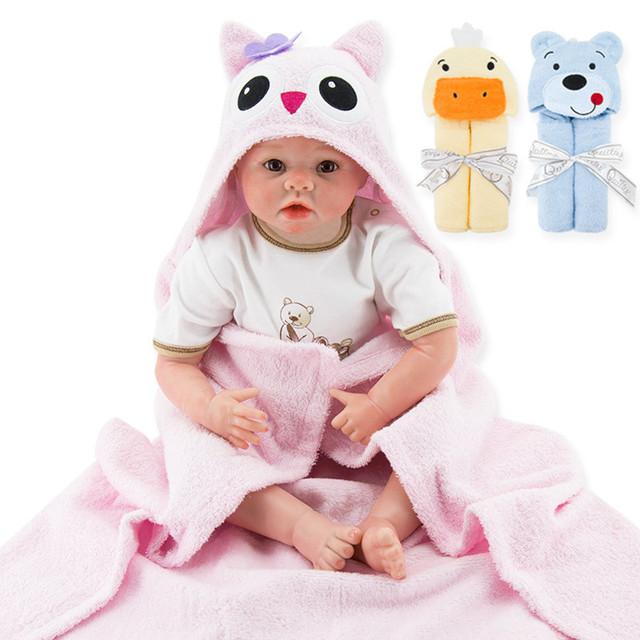 Saco de dormir Do Bebê recém-nascido Quadrado com a cabeça dos desenhos animados sleepsacks saco de dormir para bebe como um bebê blanket & panos