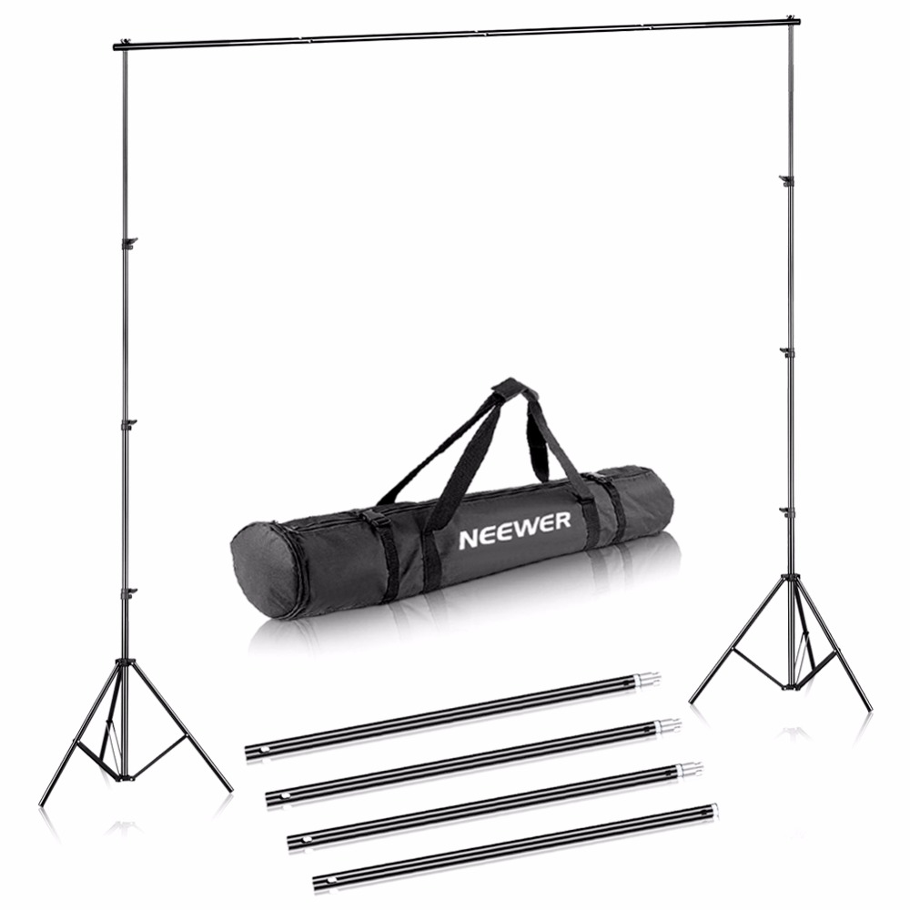 Neewer 6.5x10 feet/2x3 meters Background Stand Support Kit for Portrait Product Photography and Video Shooting|Light Stand| |  - title=