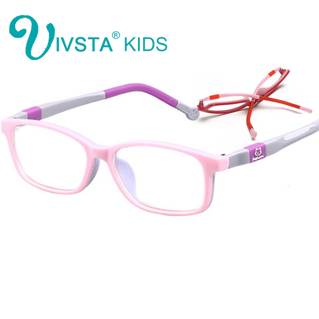 a9a177ef7e IVSTA 6006 Eyewear optical glasses children Kids optical frame colorful  design Rubber Silicone TR90 Eyewear child lenses degree