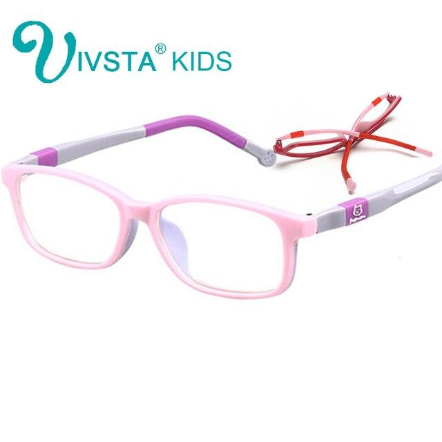 cc9556b212c40 IVSTA 6006 vidros ópticos óculos crianças Crianças frame ótico design  colorido de Borracha de Silicone TR90