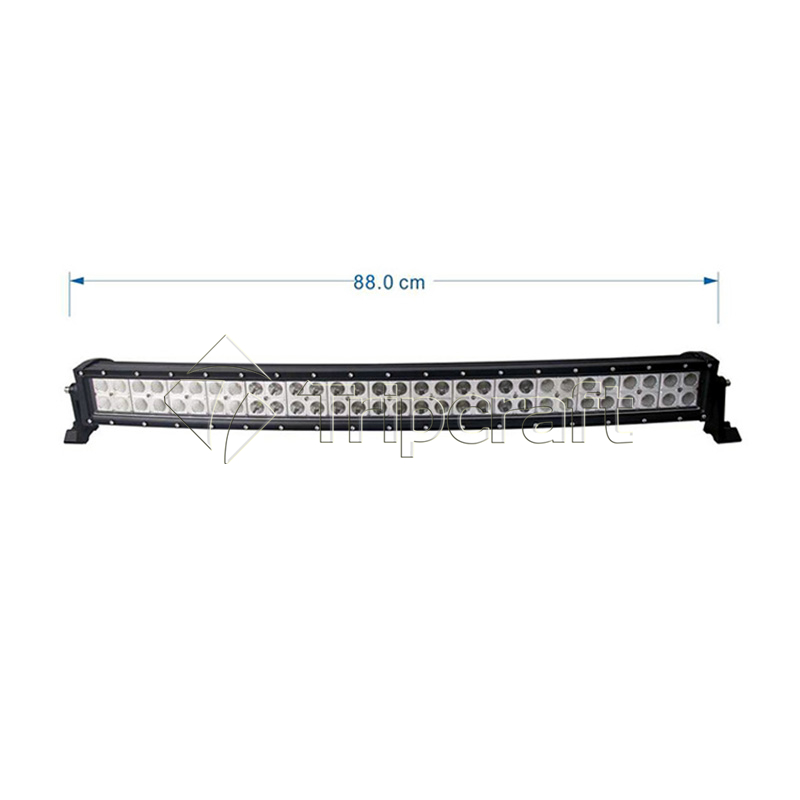 HOT SALE 180W 15300LM CURVED LED LIGHT BAR 31.5inch Fog