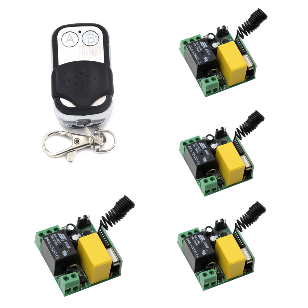 AC 220V 1CH Radio Relay Remote Control Switch Wireless Radio Light Switch , Receiver + Remote Transmitter,315/433Mhz 220v 1ch radio wireless remote control switch 8 receiver
