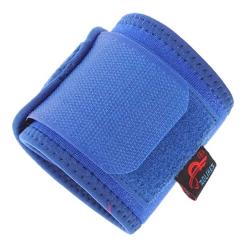 New Sale AOLIKES Universal Sports Palm Wrist Thumb Hand Wrap Glove Support Brace Gym Protector, Blue