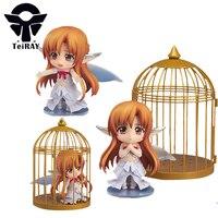 Japonya Anime Nendoroid figürinler Sword Art Online Yuuki Asuna Sao pvc aksiyon figürleri oyuncak Brinquedos juguetes doll çocuklar hediye 4