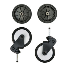 лучшая цена Baby stroller wheels Stroller Accessories Front and rear wheels For Baby cart Suitable for Yoyo Yoya Yuyu cart