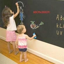 Blackboard отличный переводные картинки винил доске съемный живопись х наклейки ребенок
