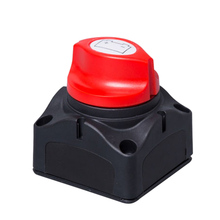 Battery Disconnect Isolator Rotary Selector Switch Cut On / Off  for Marine Boat Car Rv ATV Vehicles