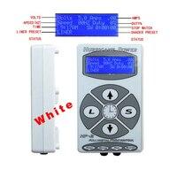 Venta al por mayor HP-2 color plata tatuaje máquina de alimentación para maquillaje permanente de la máquina