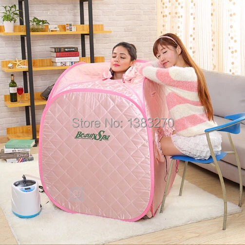 2017 Hottest PINK Sauna Indoor SPA Portable Sauna Box Home Steam Sauna Room In  Massage U0026 Relaxation From Beauty U0026 Health On Aliexpress.com | Alibaba Group