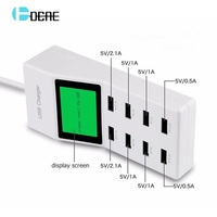 5V9A Universal USB Charger DCAE Travel Wall Charger Adapter Portable AU EU US Plug Smart Mobile