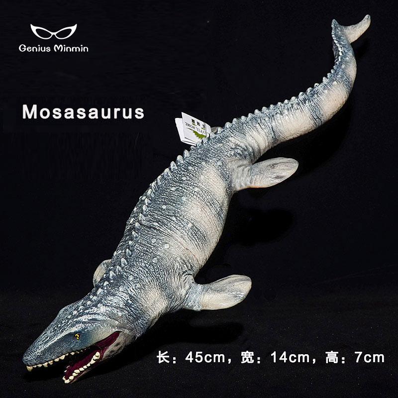 2 x Big Mosasaurus Realistic Dinosaurs Toys Action Figure Kids Christmas Gift