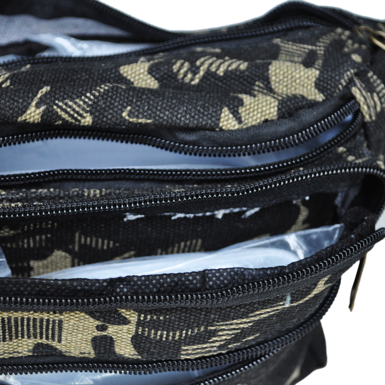 Laki laki Perempuan Anak Kanvas Camo TAS BUM Tas Pinggang tas Travel Keamanan di Pinggang Paket dari Bagasi & Tas AliExpress
