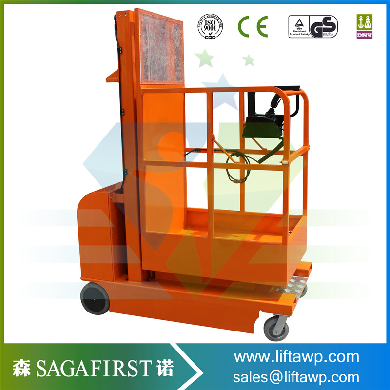Electric Lifting Self Propelled Order Picker Pricelist
