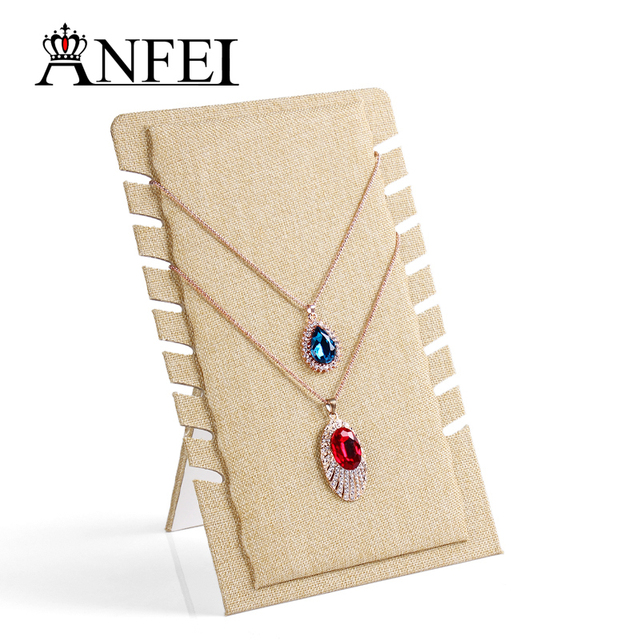 ANFEI Jewelry Stand Necklace Jewelry Display Shelf Display Stand