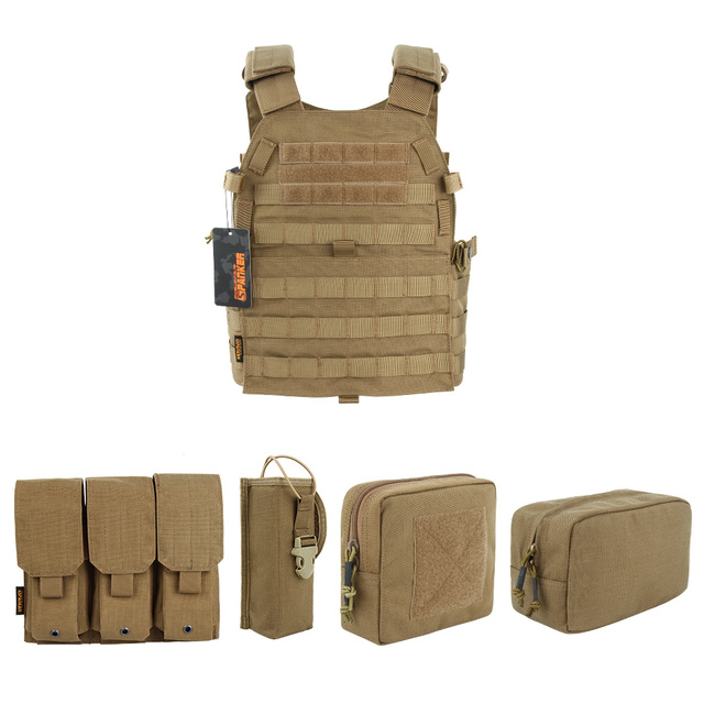EXCELLENT ELITE SPANKER Outdoor Hunting 6094 Vests Tactical Vest Suit Military Men Clothes Army CS  Equipment Accessories 4