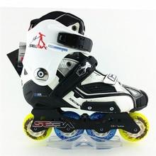 100% Original SEBA HV SEBA Alta Inline Adultos Patines Patines Zapatos de patinaje de Slalom FSK Patines de Deslizamiento Honkey Niños hombres mujeres skate