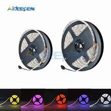 цена на SMD LED Strip Light 5050 5M RGB Lamp Leds Tape DC 12V 300Leds Waterproof Led Strip Light Home TV Car Diy Lamp