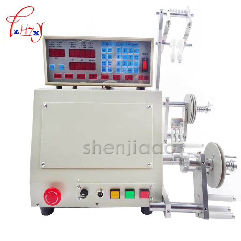 1pc 2016 high quality New Computer Automatic Coil Winder Winding Machine for 0.03-1.2mm wire 220V 2014 high quality free shipping by dhl new computer c automatic coil winder winding machine for 0 03 1 2mm wire 220v