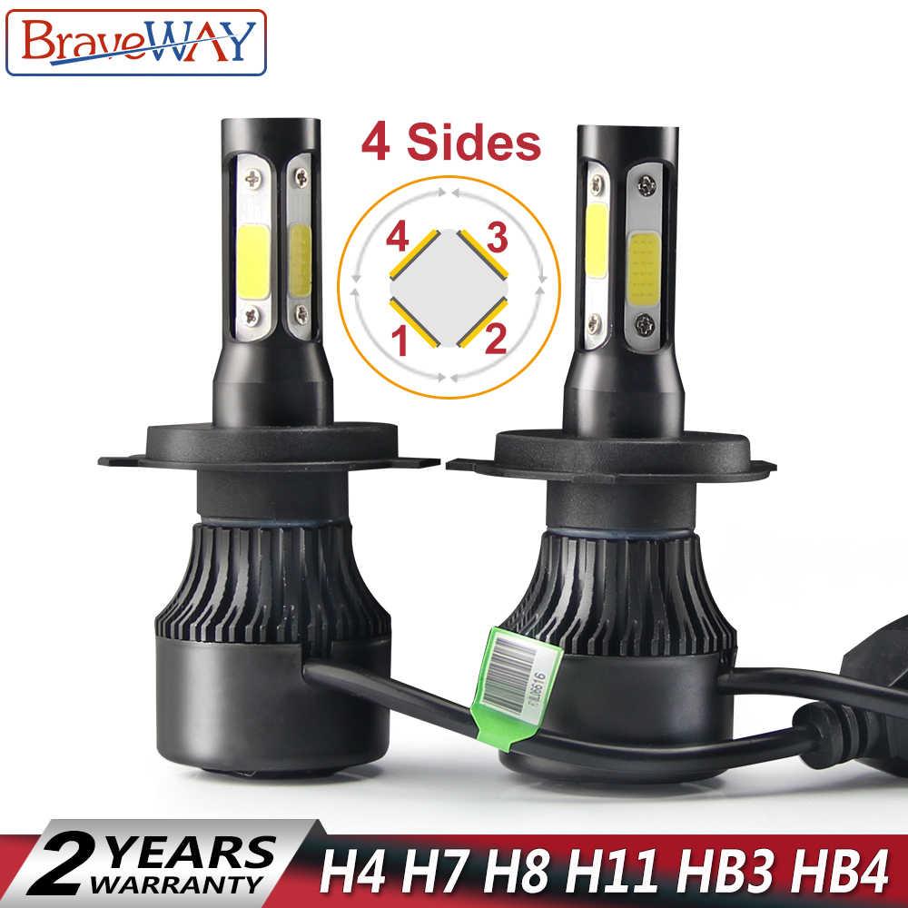 detail feedback questions about braveway csp chip h7 led light bulbsbraveway 4 sides h4 led h7 h8 h9 h11 led light bulb for cars h7 led