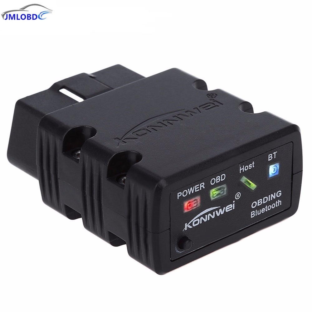 3pcs Konnwei KW902 Mini ELM327 Bluetooth KW902 OBDII Car Auto Diagnostic Scan Tools Automotive Car Scanner Wireless Connection
