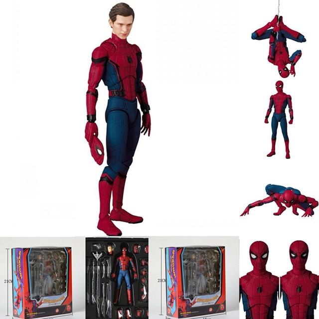 "Marvel Legenda MAF047 Spiderman Super Hero The Amazing Spider Man PVC Aksi Gambar 15 cm 6"""